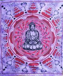 Mandala Purple Buddha